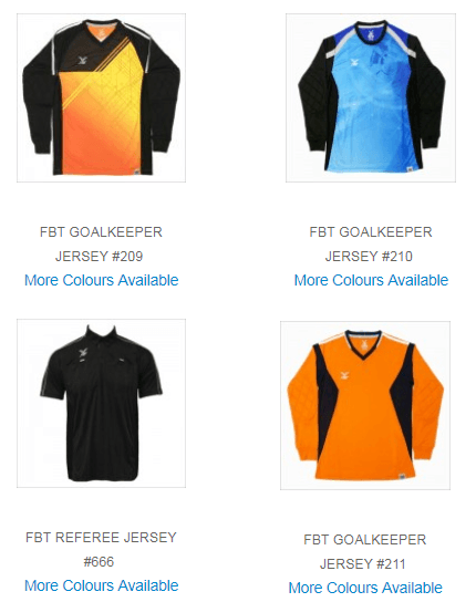fbt goalkeeper