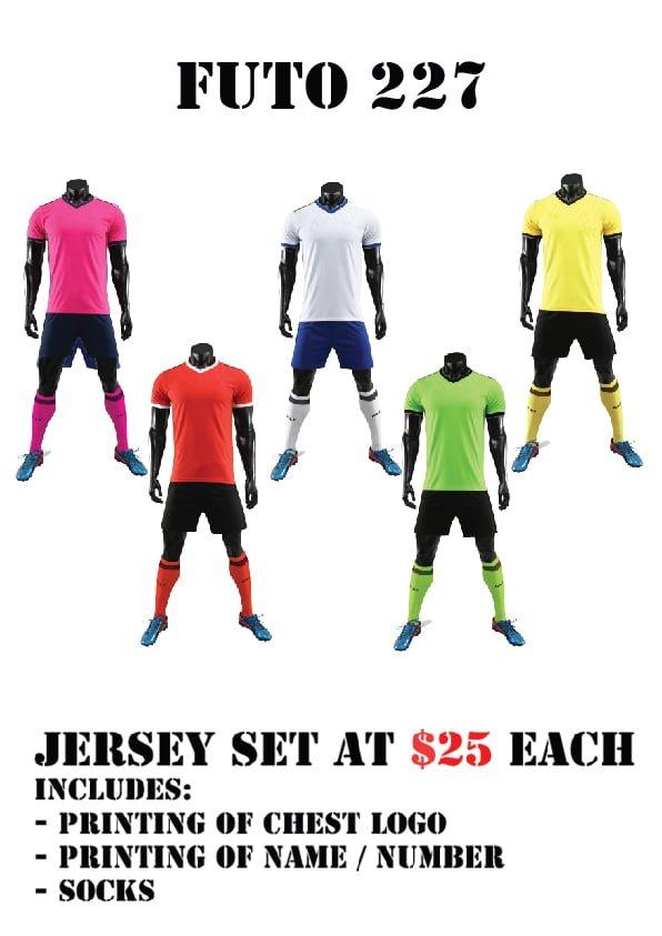soccer jersey teamwear