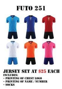 football teamwear