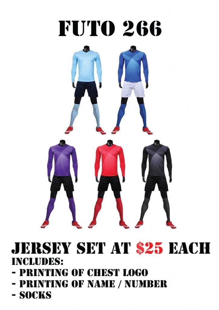 soccer team jersey