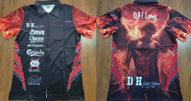 Custom Made Darts Jersey