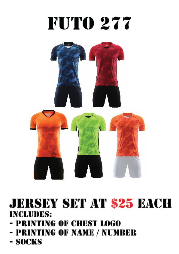 football team jersey